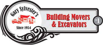 Gary Sylvester's Building Movers & Excavators Logo